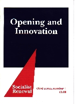 Opening and Innovation
